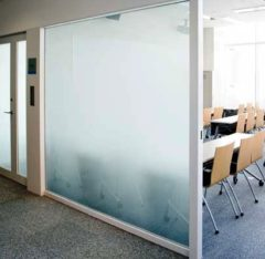 Office with 3M Fasara Glass Finishes