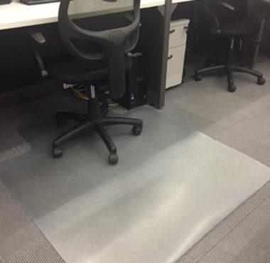 Vitac vinyl chair mat solar film